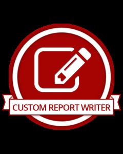 Custom Report Writer for Magento 2